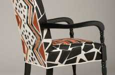 Blugirl Art's Custom Hand-Painted Fabrics for Furniture and Fashion