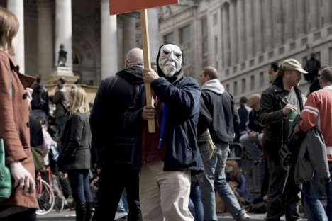 G20 London Protest Photographs