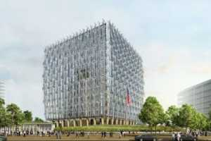 The Winning Design for the New US Embassy in London