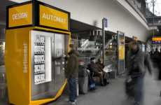 Accessories Vending Machines - The Berlinomat Design Automat Brings Products to Transit Hubs