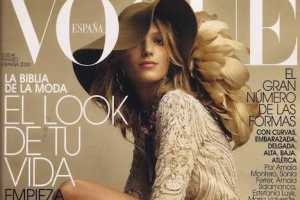 Anja Rubik Covers Vogue Spain March 2010