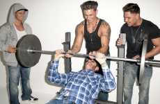 Jersey Shore Celebutorials - Terry Richardson & The Boys For Interview Magazine March 2010