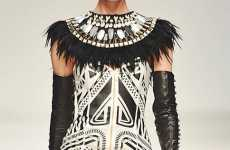 Jailhouse Tribal Fashions - The Sass & Bide Autumn 2010 Collection Rocks Black & White Right