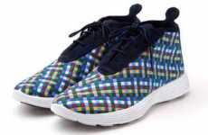 Rainbow-Colored Kicks - The Nike Lunar Woven Chukka 'Multicolor' Sneakers Add Color to Your Life