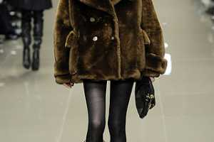 Top Fashion Designers Draped Models in Fall 2010 Fur