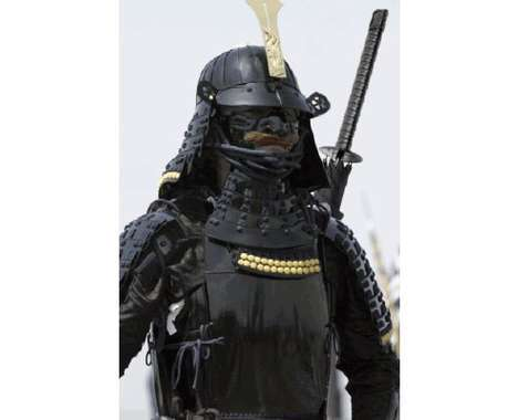 28 Samurai and Ninja Features - From Ninja USBs to Chanel Samurais
