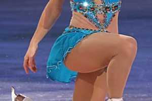 Olympic Bronze Medalist Joannie Rochette's Sparkling Wardrobe