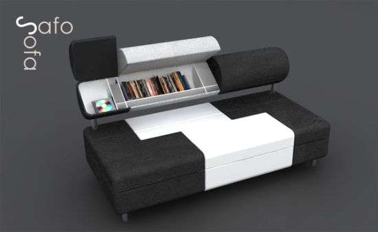 Hidden Storage Seating