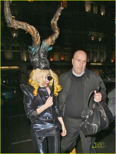 Lady Gaga horn hat