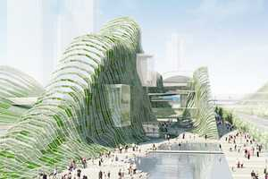 Proposed Music Center for Taipei is Incredible