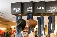 Upside-Down Advertisements - The Upside Down Gap Store in Vancouver is a Marketing Win