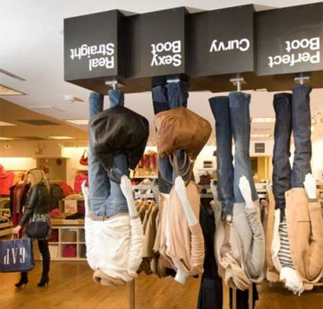 Upside Down Gap Store