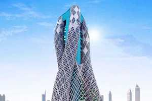 Self-Sufficient Oasis Tower Can Feed 40,000 People Each Year
