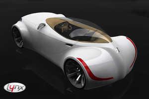 Lynx Concept Car Design by Daniel Toma