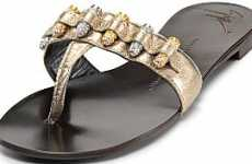 Heavy Artillery Footwear - The Giuseppe Zanotti Bullet Thong Sandals