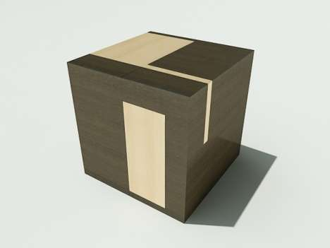 Brainstorming Furniture - The Brain Cube Thinks Outside of the Box