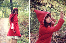 Jazzed-Up Riding Hoods - Designer Zawann Reinvents Fairytale Style