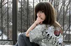 Hardcore Heavy Bangs - Fashionista Bloggers Like Natalie Paige Turn to Rocker Haircuts