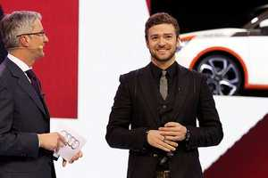 Justin Timberlake Cries Us an Audi A1 Mini Fighter