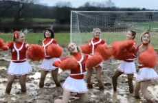 Muddy Milkshake Cheervertising - The Frijj Swamp Soccerettes Get Dirty