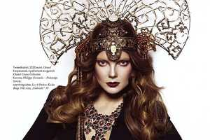 Elle Hungary March 2010 Shows 'Madame Butterfly'