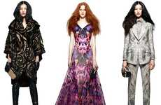 Postmortem Fashion Collections - The Alexander McQueen Pre-Fall 2010 Look Book