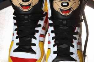 Mickey Mouse Adidas Sneaks Designed by Jeremy Scott