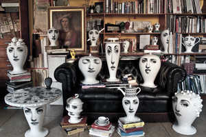 The Fornasetti Vases Will Look You Straight in the Eye