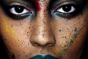 The Bella Simonsen Photoshoot Experiments with the Human Canvas