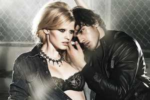 Lara Stone Looks Seductive for Forum Fall 2010 Campaign