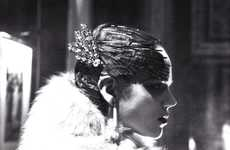 Classic 20s Barrettes - 'In Grande Style' Vogue Italia March 2010 Shows