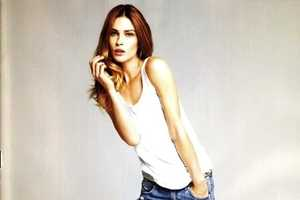 Erin Wasson Looks Casual Cool For H & M Magazine Spring 2010