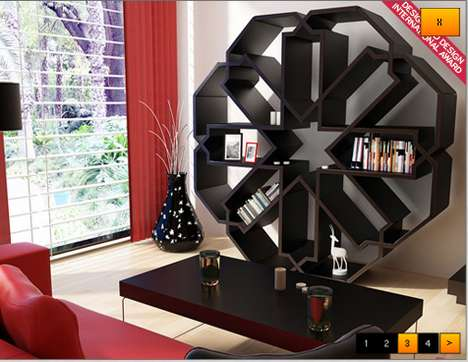 zelli bookcase