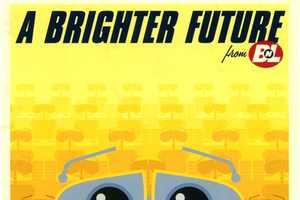 Eric Tan Puts Disney/Pixar Movie Posters in a Time Machine