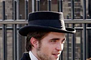 Robert Pattinson Wears a Top Hat