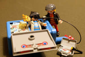 The Playmobil Safe Crackers will Steal Your Heart