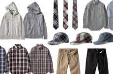 Preppy Skater Menswear - The Stussy 2010 Spring Collection Combines Two Very Different Fashion World