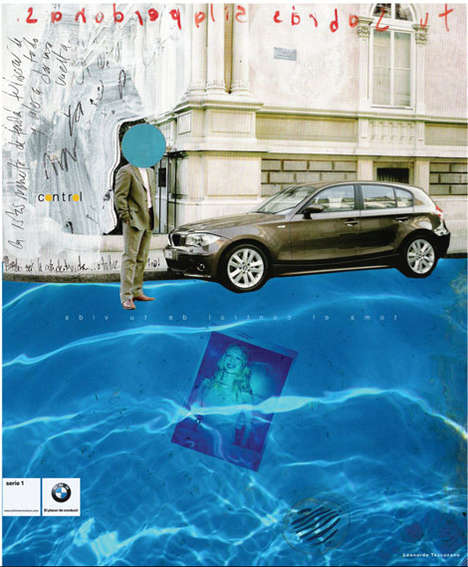 Painted BMW Ads