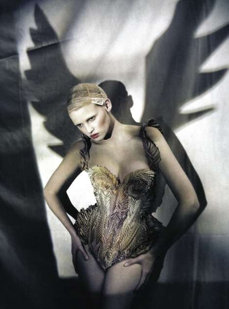 Angels & Demons Editorials - Italian Vogue March 2010 Features 'The Great Illusion'