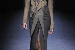 The Haider Ackermann Fall 2010 Collection is Fabulously Futuristic