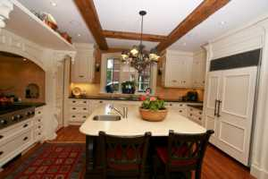 The Mill Line Custom Kitchen Brings the Cottage to the City