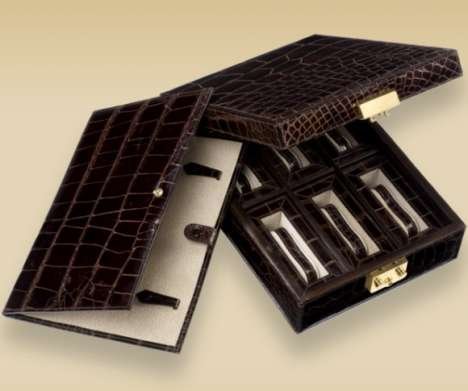 Brioni Crocodile Watch Box