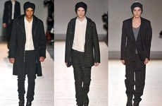 Nocturnal Fashion - The Kris Vaan Assche Fall 2010 Collection Expands on a Classic Look