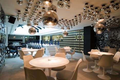 Burlesque-Themed Interiors - The Tom Dixon Circus Restaurant Design is Fun and Flashy