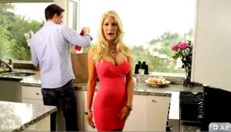 Heidi Montag and Ron Howard