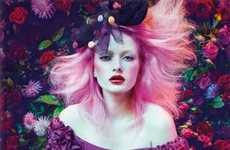 Gothic Floral Fashions - The Alannah Hill Autumn/Winter 2010 Collection Proves Why Australia Rocks
