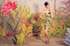 Exotically Camouflaged Catalogs - The Anthropologie Look Book is Colorfully Airy