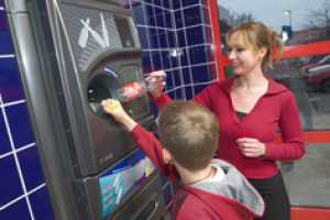 Reverse Vending Rewards Recyclers With the Chance to Win a Prize
