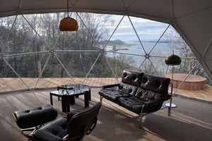 The Zendome Ecopod Boutique Retreat is Completely Removable