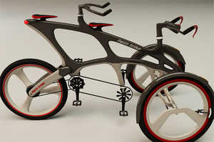 The Twin Trike is Designed for Couples Riding